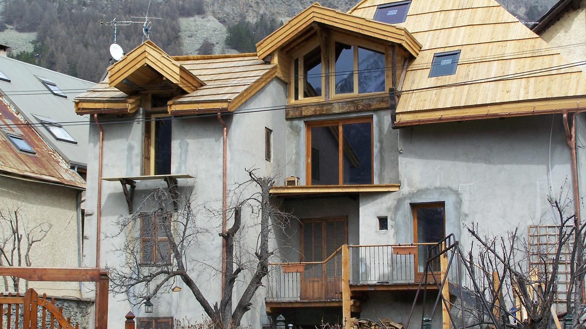 Refection toiture charpente - Matrise d'oeuvre - Pascal Faure batiment expert